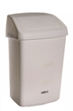 Picture of 50lt Swing Top Tidy Bin White Plastic-BINS386250- (EA)