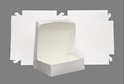 Picture of Cake Box White 6in x 6in x 3in-CAKB156610- (SLV-100)