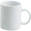 Picture of China Mugs White 350ml -Straight Sided-Tomkin Vitraceram 90012-CHIN213560- (EA)