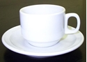 Picture of China Saucer Wide Rim 155mm SuperGlaze (CUP NOT INCLUDED)-CHIN213770- (EA)