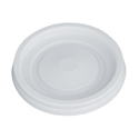 Picture of Sipper Lid fits 4oz Paper Single Wall Hot Cup - White - Castaway-CLID110490- (SLV-100)
