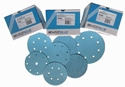 Picture of Sanding Disks 150mm Velcro 7 Hole 3M Hookit Gold 100 grit-DISK760600- (CTN-100)