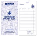 Picture of Restaurant Docket Books Duplicate 100mm x 195mm RD303  50s-DKTB338410- (EA)