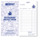 Picture of Restaurant Docket Books Large 100mm x 195mm Triplicate RD304  50s-DKTB338450- (SLV-5)