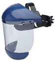 Picture of Safety Brow Guard and Visor Complete - Clear-Maxisafe-EYES825450- (EA)