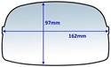 Picture of Lens Clear to suit S/Glass 9000 Outer -EYES825780- (BOX-10)
