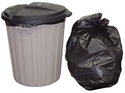 Picture of Garbage Bin Liner 54L-55L LDPE Heavy Duty Black Bags-GARB025095- (SLV-50)