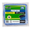 Picture of Garbage Bin Liner 70-77L HDPE Blue 740x900-GARB025100- (CTN-500)