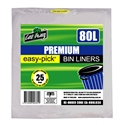 Picture of Garbage Bin Liner 72-80L-82L Natural 810x950mm-GARB025365- (EA)