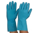 Picture of Gloves Silverlined Rubber Blue - M (8-8.5)-GLOV474745- (PAIR)