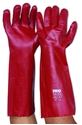 Picture of Gloves PVC -Single Dipped  -Red 45cm-GLOV475850- (PAIR)
