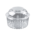 Picture of Food/Show Bowl Clear Plastic 12oz DomeLid 360mlapprx-HCON148650- (SLV-25)