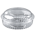 Picture of Food/Show Bowl Clear Plastic 20oz DomeLid 568ml approx-HCON148950- (SLV-25)