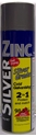 Picture of **IL**Paint Cans -Gal Spray -Silver Zinc -2 in 1  - 400gm-MARK740315- (EA)