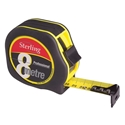 Picture of Tape Measure 8m/27ft x 25mm    Metric/Imp  Sterling Professional-MEAS736750- (EA)