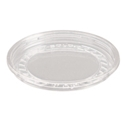 Picture of Clear Round P.E.T. Deli Container Lid - Recessed 117mm-PCON144550- (SLV-25)