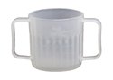 Picture of Feeder Cup Autoplas Nat 250ml 2 handle Nursing home (CUP ONLY)-POLY226500- (EA)