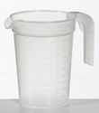 Picture of 1Ltr Measuring Jug-POLY227000- (EA)