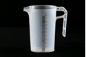 Picture of Measuring Jug Clear Plastic with 10ml Markings - 1 Litre-POLY228542- (EA)