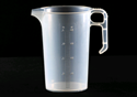 Picture of Measuring Jug Clear Plastic with Markings - 2 Litre-POLY228543- (EA)