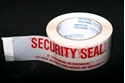 Picture of Tape -Printed Security Seal-Red on White 48mm x 66m-PTAP511200- (EA)