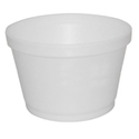 Picture of Foam Soup Container Round 16oz-SCUP125300- (CTN-500)