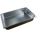 Picture of Stainless Steel Bain Marie Steam Insert Pan 1/1 size 100mm deep - 530mm x 325mm-SSTL225163- (EA)