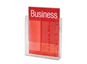 Picture of A4 Brochure Holder Single Wall Mounted 210x297mm Esselte-STAT349800- (EA)