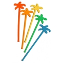 Picture of Swizzle Stick 'Palm Tree' Neon-STRW178138- (SLV-100)