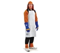Picture of Leather Welding Apron -Bib Style Full Length ( 90 x 60 )-WELD827350- (EA)