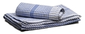Picture of Tea Towel  Check Pattern 45 x70cm - BLUE-WIPE378450- (PACK-12)