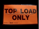 Picture of Top Load Only  - Printed Labels -LABE642670- (BOX-500)