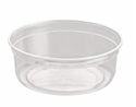 Picture of Clear Round P.E.T. Deli Container 237ml 8oz-PCON144500- (SLV-25)