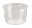 Picture of Clear Round P.E.T. Deli Container 473ml 16oz-PCON144520- (SLV-25)