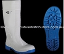Picture of Gumboot White Maxisafe Administrator - SIZE 12-APPR489806- (PAIR)