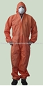 Picture of Coveralls - Disposable Orange Standard-CLTH831970- (EA)