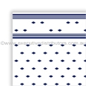 "Picture of Table Cloth/Cover Roll Paper""Blue Tile Pattern"" 30mt x 1.1mt-DOYL191072- (ROLL)"