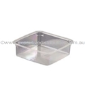 Picture of Clear Square Tub 125ml-HCON150058- (SLV-25)