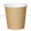 Picture of 4oz Single Wall Coffee Cups - Brown/Kraft-HCUP107930- (SLV-50)