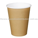 Picture of 12oz Single Wall Coffee Cups - Brown/Kraft-HCUP107934- (SLV-50)