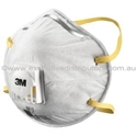 Picture of 3M 8812 P1 Premium Round Valved Dust / Mist Respirator -RESP820270- (BOX-10)