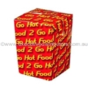 Picture of Cardboard Chipbox Small 75 x 75 x 100 - Printed -SNAK152901- (CTN-500)