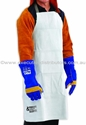 Picture of Leather Welding Apron -Waist Style (609 x 609) -Leather Straps-WELD827550- (EA)