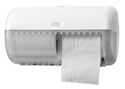 Picture of Toilet Roll Dispenser Dualine Plastic-Holds Two Rolls Side by Side Tork-DISP433750- (EA)