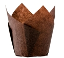 Picture of Muffin Tulip Baking Cups - 60-90mm High x  60mm Base - BROWN-MISC232530- (SLV-200)