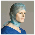 Picture of Polypropylene Disposable Blue Hood-APPR490770- (SLV-100)