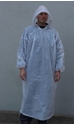 Picture of Poncho Polyethelene Long Sleeve Disposable White -APPR495140- (CTN-100)