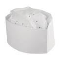 Picture of Disposable Forage / Chefs Hat White-APPR492220- (BOX-100)