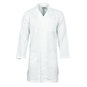 Picture of Gown Lab Coat Polyester / Cotton 200gsm WHITE - Small (Size 92R)-APPR495250- (EA)