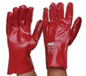 Picture of Gloves PVC -Single Dipped  -Red 27cm-GLOV475845- (PAIR)